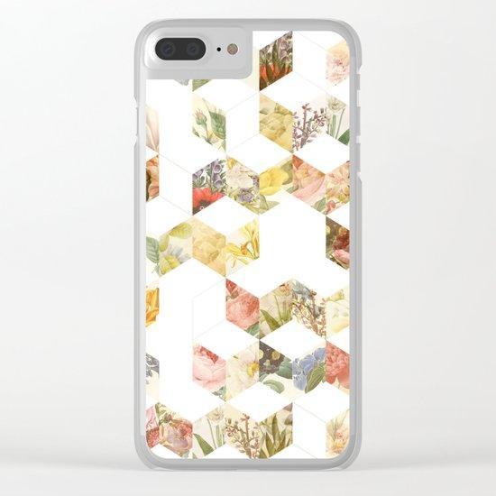 Keziah - Flowers Clear iPhone Case