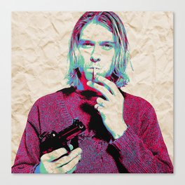 Kurt i Canvas Print