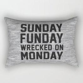 Sunday Funday Rectangular Pillow