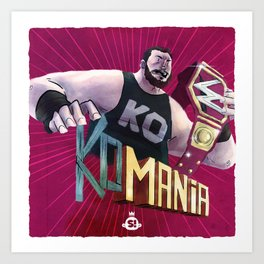 Champions - KO-Mania Art Print
