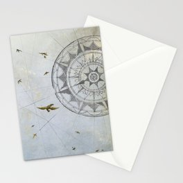 Losing Direction Stationery Cards