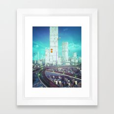 REBUILD (everyday 08.20.16) Framed Art Print