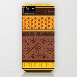 Waxing Poetic iPhone Case