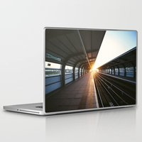 jewish Laptop & iPad Skins featuring The light at the end of the tunnel by Brown Eyed Lady