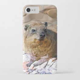 African Rock Hyrax iPhone Case