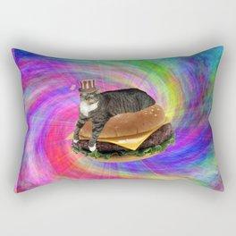 Prankster Lucy-Fur Burger Rectangular Pillow