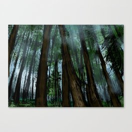 A Mystical Forest Canvas Print