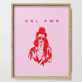 GRL PWR Serving Tray