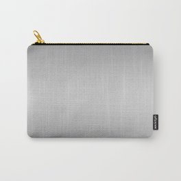 Gray to White Horizontal Bilinear Gradient Carry-All Pouch