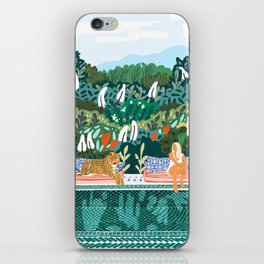 Chilling || #illustration #painting iPhone Skin