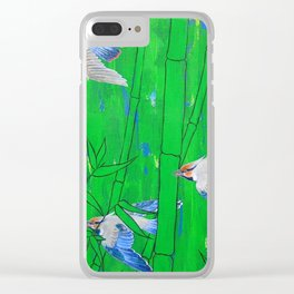 Flight and Pursuit Clear iPhone Case
