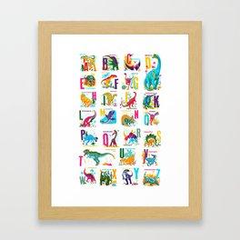 Alphasaurus Rex Framed Art Print