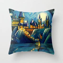 Magic at First Sight Throw Pillow