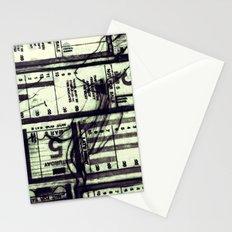 Muni Breaks Mixed Media by Faern Stationery Cards
