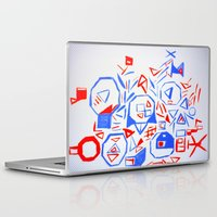 aliens Laptop & iPad Skins featuring Aliens by KalinaM