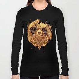 Owluminati [Gold] Long Sleeve T-shirt
