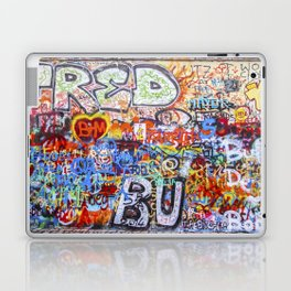Prague's Wall Laptop & iPad Skin