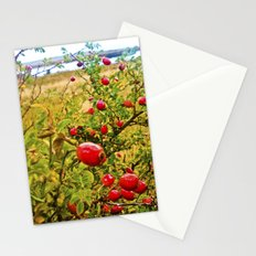 Nature red and green. Stationery Cards