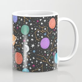 Astrology Pattern Coffee Mug