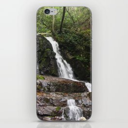 Tennessee Waterfall Smoky Mountains Color Photo iPhone Skin