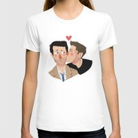 destiel T-shirts featuring Destiel kisses by Mack Robles