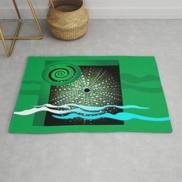Sea Urchin - Kina Rug