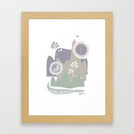 cape bay Framed Art Print