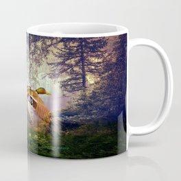 Ducks Flying To The Lake By Annie Zeno Coffee Mug