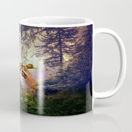 Ducks Flying To The Lake By Annie Zeno Coffee Mug