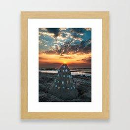 And so it begins! Framed Art Print
