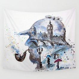 Mr. Sherlock Wall Tapestry