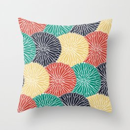 Flower Infusion 2 Throw Pillow