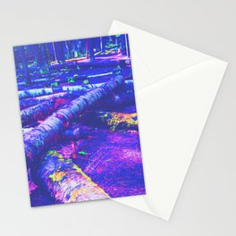 Logs of Colour Stationery Cards