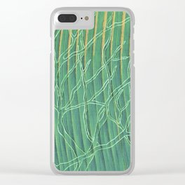 Trees Clear iPhone Case