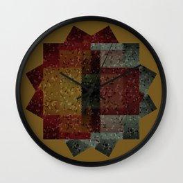 Loony Linoleum Wall Clock