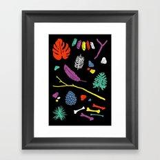 Organisms Framed Art Print