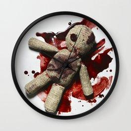 Bloody sack doll Wall Clock