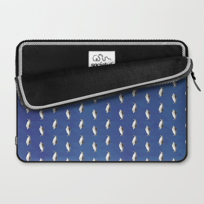 Paper origami Penguin Laptop Sleeve