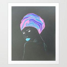 Gloei Art Print