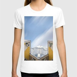 Cube houses in Rotterdam T-shirt