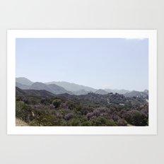 Los Angeles IV Art Print