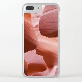 Peaches and Roses Clear iPhone Case