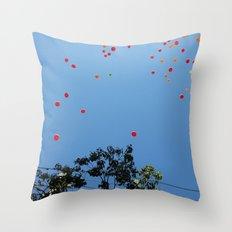 Baloons Throw Pillow