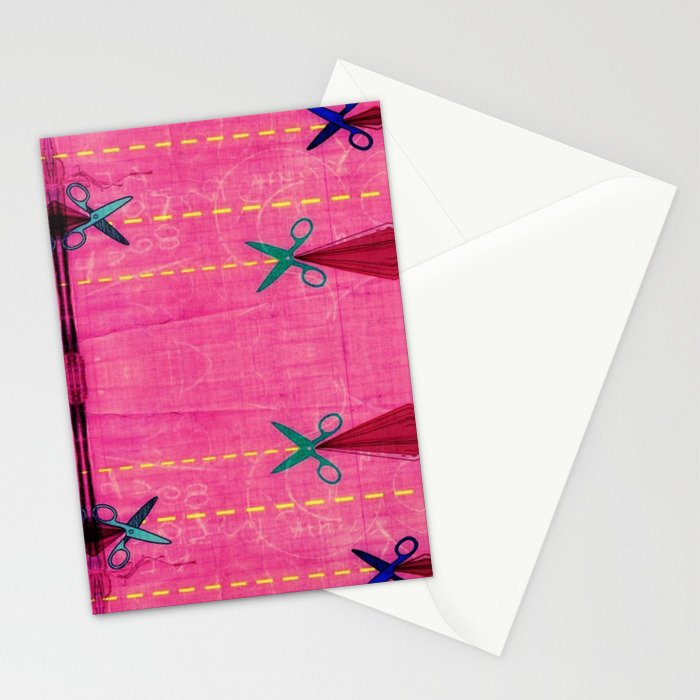 Cut it Up Stationery Cards