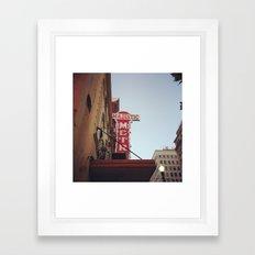 The Majestic Metro Framed Art Print