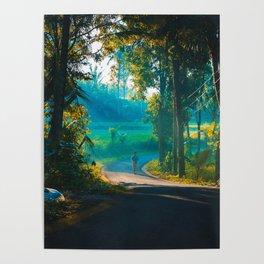 Sunrise in Bali Poster