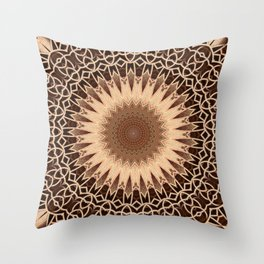 Some Other Mandala 506 Throw Pillow