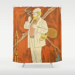 August 1895 Lippincott's magazine Shower Curtain