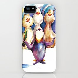Miaumiaumiau iPhone Case