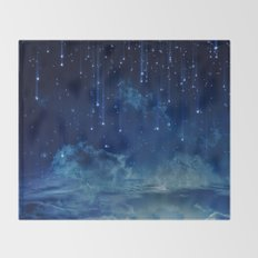 Falling stars I Throw Blanket